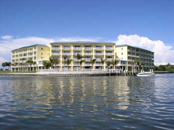 Exterior View of Boca Ciega Resort