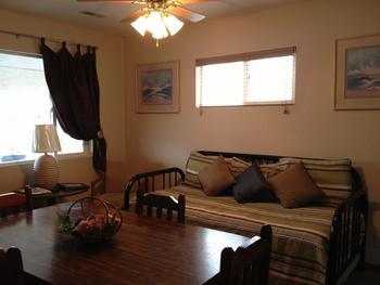Guest living room at Alhonna Resort.