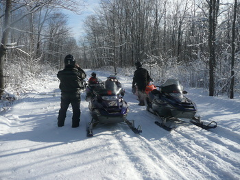 Winter Activities at Woodside Cottages of Bayfield