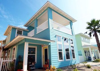 Rental exterior at Port Aransas Escapes.