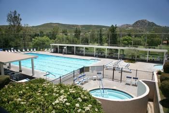 Outdoor pool at San Vicente Golf Resort.