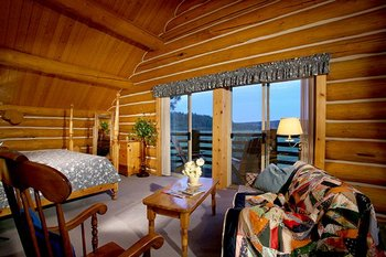 Guest room at Aspen Ridge Resort.