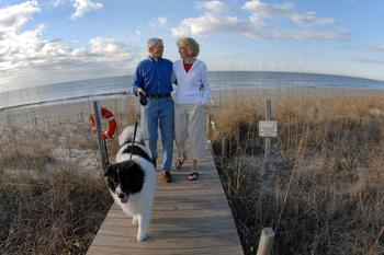 Pet friendly accommodations at Bald Head Island Limited.