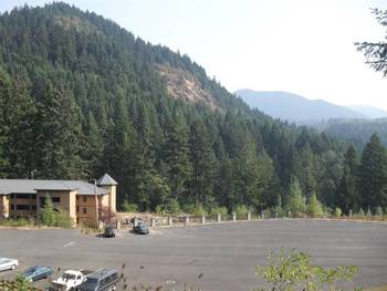 Exterior view of Carson Hot Springs Spa.