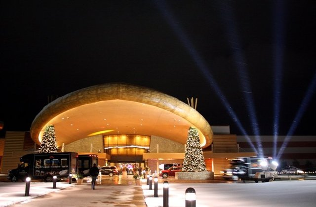 Exterior view of Odawa Casino Resort.