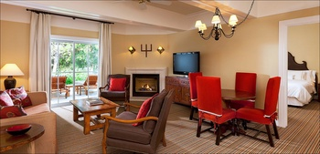 Guest suite at La Cantera Hill Country Resort.