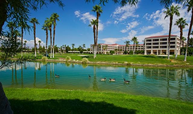 Exterior view of Doral Desert Princess Resort and Spa.