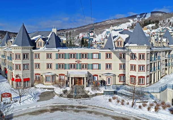 Exterior view of Residence Inn Mont Tremblant Manoir Labelle.