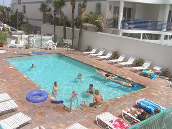 Outdoor pool at Vistas on the Gulf.