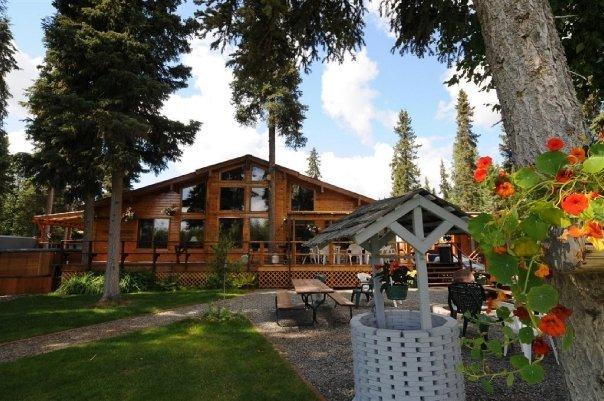 Anglers lodge and fish camp soldotna ak resort for Fish camp lodging