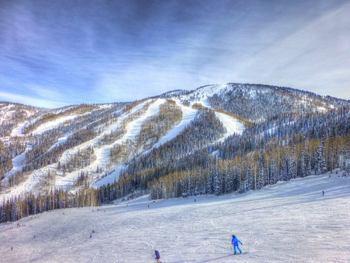 Skiing at EagleRidge Lodge.