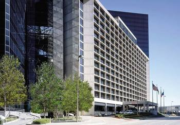 Exterior view of The Westin City Center, Dallas.