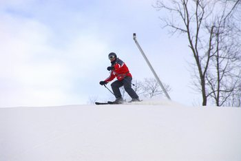 Skiing at Nemacolin Woodlands Resort.