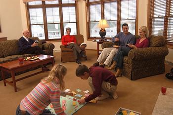 Family bonding at The Osthoff Resort.