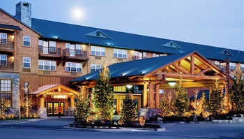Exterior view of The Heathman Lodge.