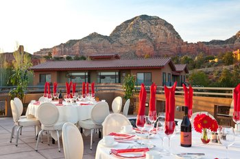 Receptions at Sedona Rouge Hotel.