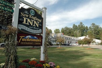 Inn Entrance at The New England Inn & Lodge