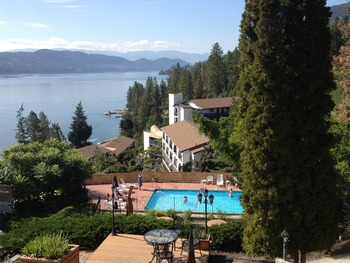 Exterior view of Lake Okanagan Resort