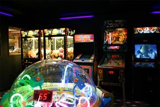 Arcade at Holiday Inn Express Brainerd