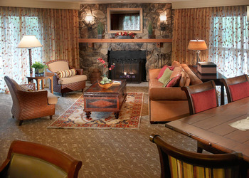 Living room at Cheyenne Mountain Resort.