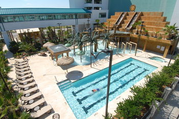 Outdoor pool at Landmark Resort.