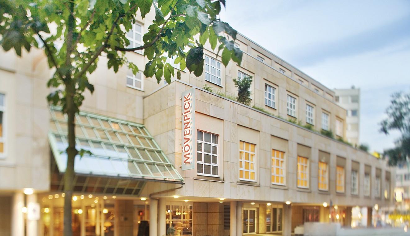 Exterior view of Mövenpick Kassel.