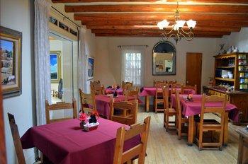 Dining at Pueblo Bonito.
