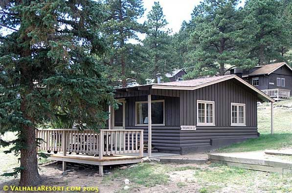 Valhalla resort vacation estes park co resort for Estes park lodging cabins
