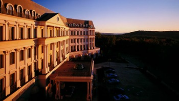 Exterior vew at Nemacolin Woodlands Resort.