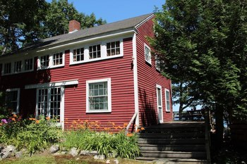 Cottage Exterior at Harborfields Cottages