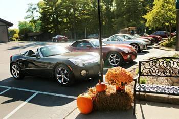 Car Club at Baker's Sunset Bay Resort.