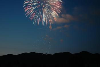 Fireworks at Five Star Rentals of Montana.