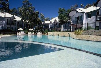 Outdoor pool at Mandurah Quay Resort.