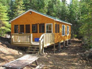 Cabin at Ellen Island Camp