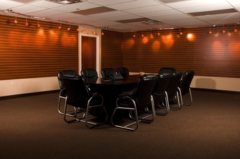 Meeting room at South Walton Suites.