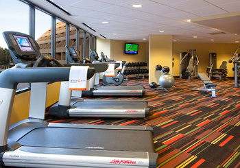 Fitness center at Hyatt Regency Suites - Palm Springs.