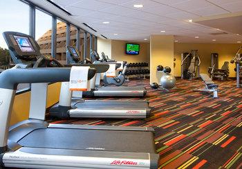 Fitness center at Hyatt Regency Suites - Palm Springs.
