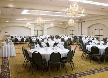 Ballroom at Hotel Encanto.