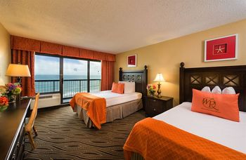Guest room at Westgate Myrtle Beach.
