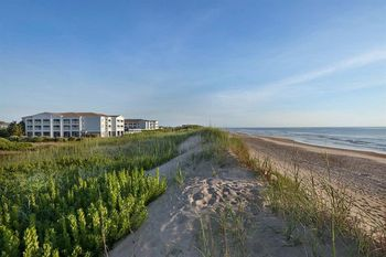 The beach at Hampton Inn & Suites Outer Banks/Corolla.