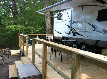RV Site at Mount Pocono Campground
