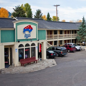 Exterior view of Painted Buffalo Inn.