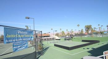 Tennis court at Country Club and Resort Rentals.