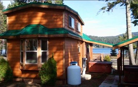 Hyatt lake resort ashland or resort reviews for Hyatt lake cabins