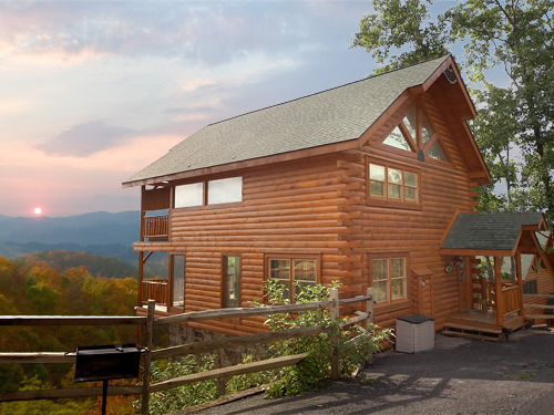 Pigeon Forge Vacation Rentals Cabin 1 Bedroom Cabin Getaway With Loft Ral 52a62ab5227c