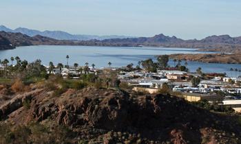 Exterior view of Havasu Springs Resort.