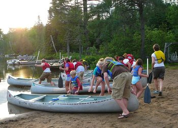 Canoe Trips at Bearskin Lodge