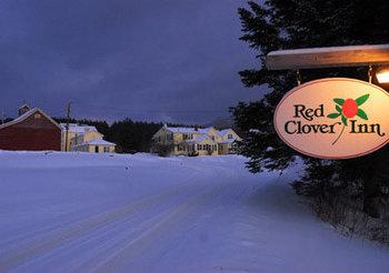 The Red Clover Inn Restaurant & Tavern sign.