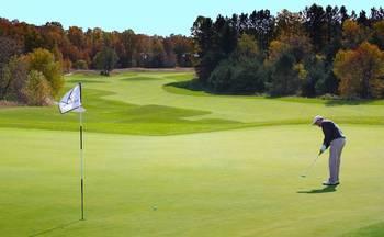 Golf course near Trout Creek Condominium Resort.