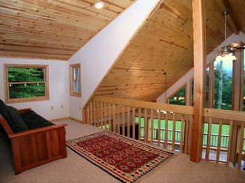 Vacation rental loft at Beaver Ridge and Northpoint.